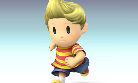 Lucas en Super Smash Bros. Brawl