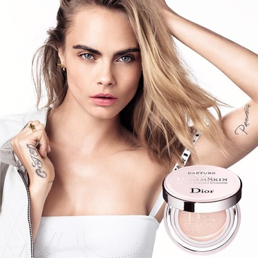 Cara Delevingne y Dior siguen formando el tándem perfecto con la nueva campaña de Dreamskin