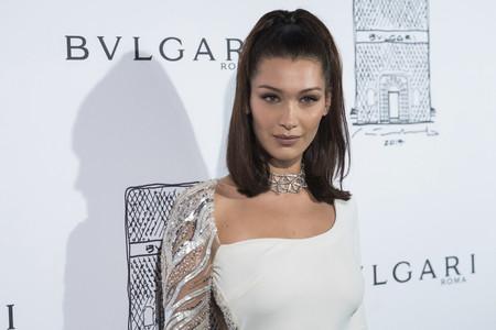 Bella Hadid se convierte en la estrella invitada en la fiesta de reapertura de Bvlgari en la Quinta Avenida de Nueva de York