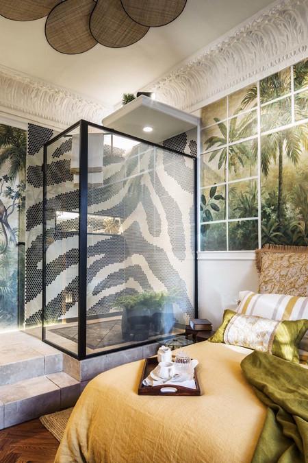 Profiltek presenta sus mamparas en el espacio de Miapetra diseñado por Blanca Hevia en Casa Decor 2020