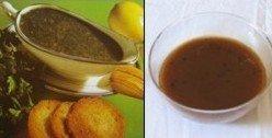 Salsa de perejil o de miel: pescado o carne