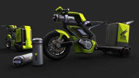 Transport Hornet, movimiento por aire comprimido