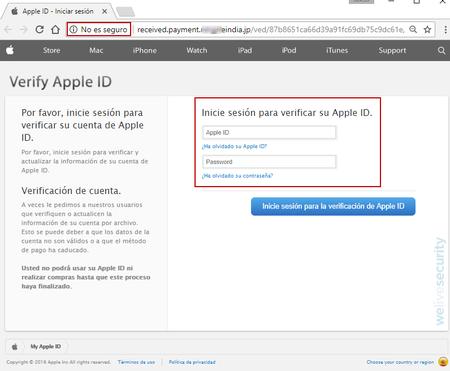 robo cuenta de Apple