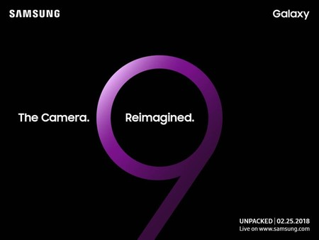 Es oficial: Samsung presentará el Galaxy S9 el 25 de febrero en el MWC 2018