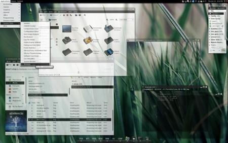 Transparencia en GNOME 1