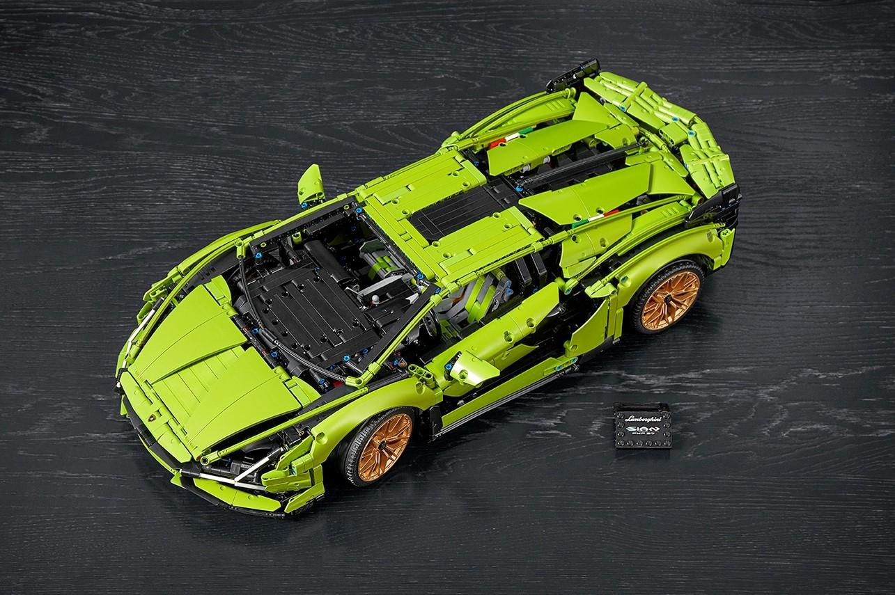 Foto de Lamborghini Sián FKP 37 de LEGO (8/15)