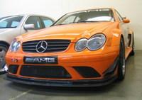 Mercedes CLK DTM AMG, ¡naranja!