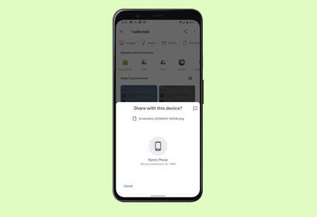 El 'AirDrop de Android' llega en fase beta: así funciona Nearby Sharing