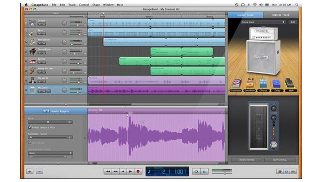 apple garageband 11 ilife