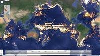 Mapear la pesca ilegal desde el espacio, será pronto una realidad