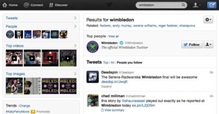 Twitter mejora enormemente su búsqueda en la web
