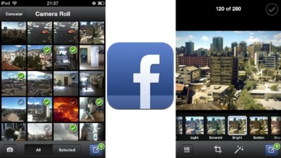 Facebook actualiza su aplicación para iOS e incluye filtros para las fotos