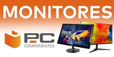 Monitores en oferta en PcComponentes: Millenium, HP, Samsung y LG a precios rebajados