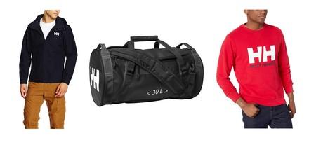 Descuentos en Helly Hansen en 11 artículos tales como  bolsas de deporte, mochilas, sudaderas y abrigos en Amazon