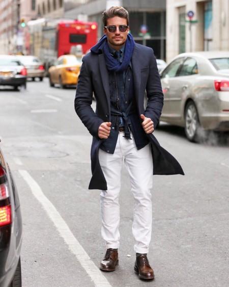 Mariano di Vaio en Nueva York: Cómo llevar el perfecto look de invierno a primavera en clave lowcost