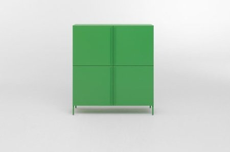mueble almacenaje verde