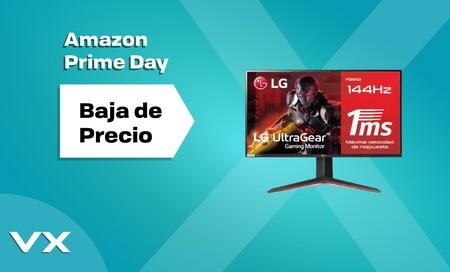 Amazon Prime Day 2021: estos tres monitores gaming LG con resolución 1080p bajan de precio