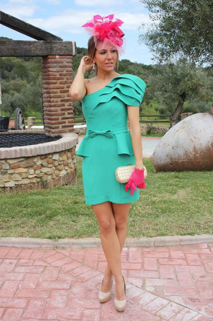 Como combinar vestido verde para boda