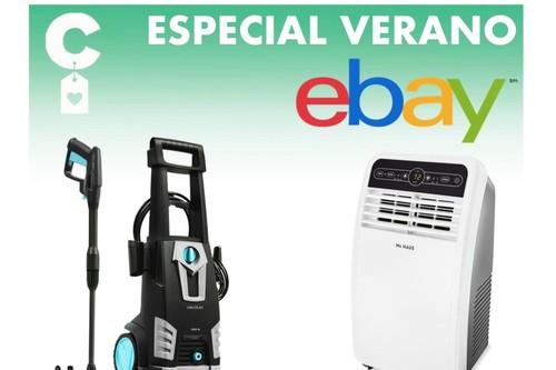 Prepara tu casa para el verano: tumbonas, hidrolimpiadoras, aire acondicionado portátil, ventiladores y muebles de jardín rebajados en eBay