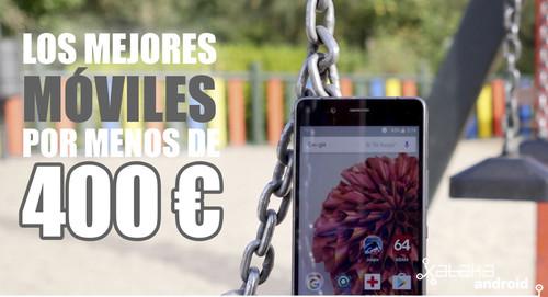 Los mejores móviles Android de abril por menos de 400 euros