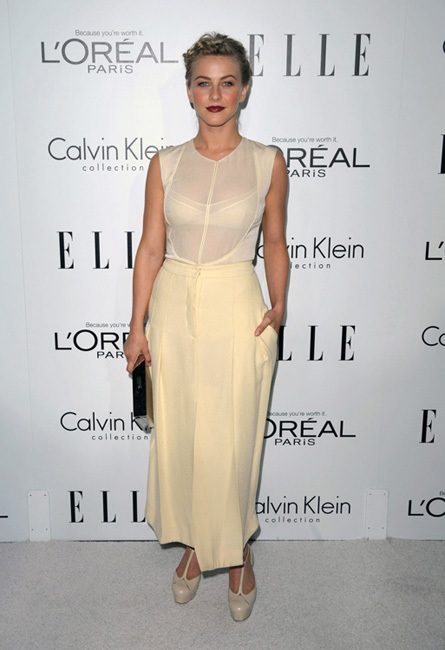 Julianne Hough fiesta Elle Women in Hollywood 2012