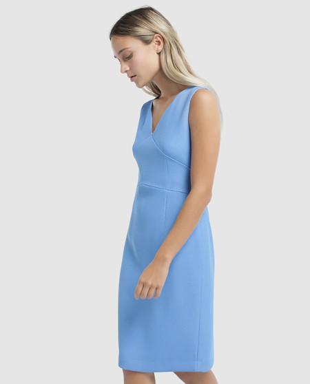 Vestido Azul Roberto Verino Rebajas