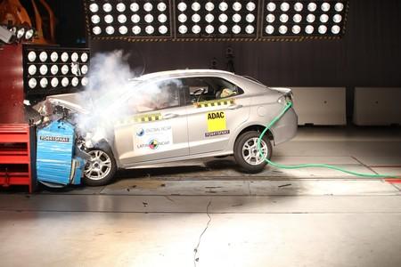 ford KA obtiene tres estrellas en prueba de choque Latin NCAP