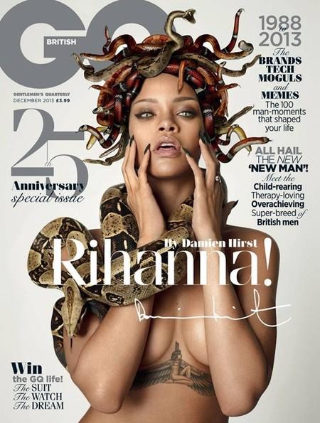 Miedo, pero que mucho miedo, con Rihanna en GQ