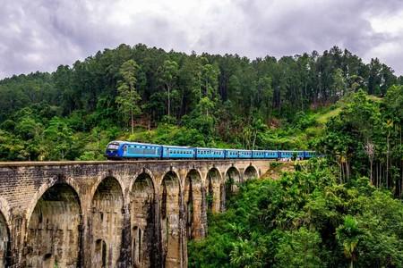 Sri Lanka Tren Nuwara Eliya A Ella Portada
