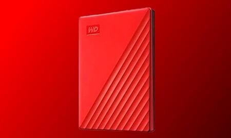Este disco duro tiene el color ideal, está rebajado y todavía llega a tiempo para regalar en San Valentín WD My Passport de 2 TB por 69,99 euros