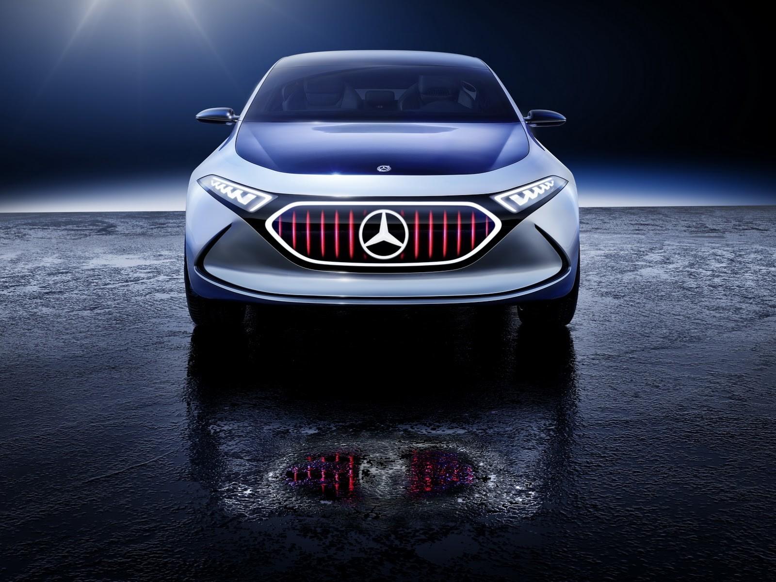 Foto de Mercedes-Benz EQ A Concept (15/15)