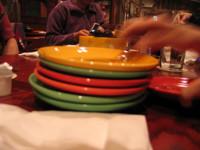 Cambia tu plato por uno más pequeño