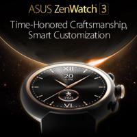 ASUS ZenWatch 3: diseño elegante, potencia y personalización