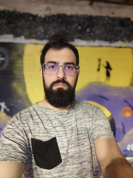 Selfie Noche Modo Retrato