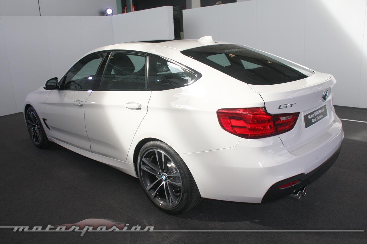 Foto de BMW Serie 3 GT (Presentación estática) (20/43)