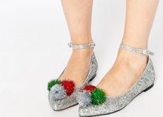 Para las amantes de los zapatos planos: 8 bailarinas para lucir estas fiestas
