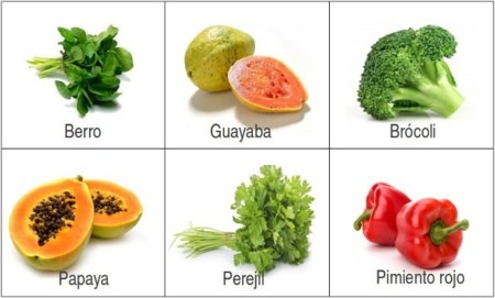 Adivina adivinanza: ¿qué alimento tiene más vitamina C?