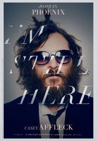 'I´m Still Here', cartel del regreso de Joaquin Phoenix