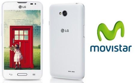 Precios LG L65 con Movistar y comparativa con Orange