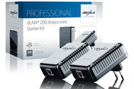 Devolo dLAN 200 AVpro mini, redes PLC de corte profesional al alcance de todos