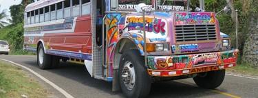 Los Diablos Rojos: así convirtió Panamá los autobuses escolares estadounidenses en su seña de identidad