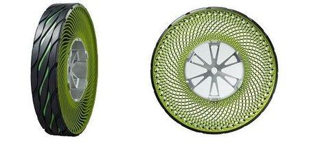 Bridgestone presenta los neumáticos de resina