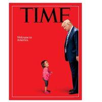 Así da Trump la bienvenida a los niños: la impactante portada de Time y la historia detrás de la foto