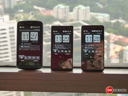 HTC Touch HD, en vídeo y en familia