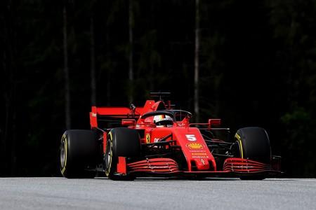 Vettel Estiria F1 2020
