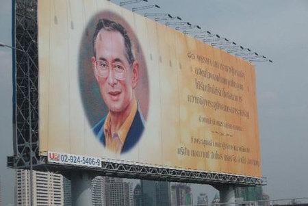 Si viajas a Tailandia... guarda respeto al Rey