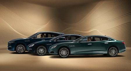 Los Maserati Ghibli, Quattroporte y Levante resucitan la edición limitada Royale: sólo 100 unidades y motores V6