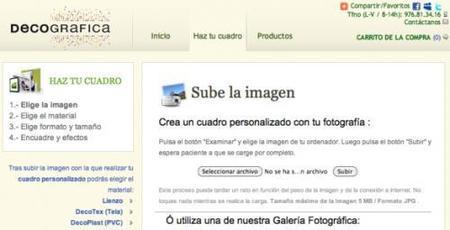 Decográfica es una tienda online de enmarcado