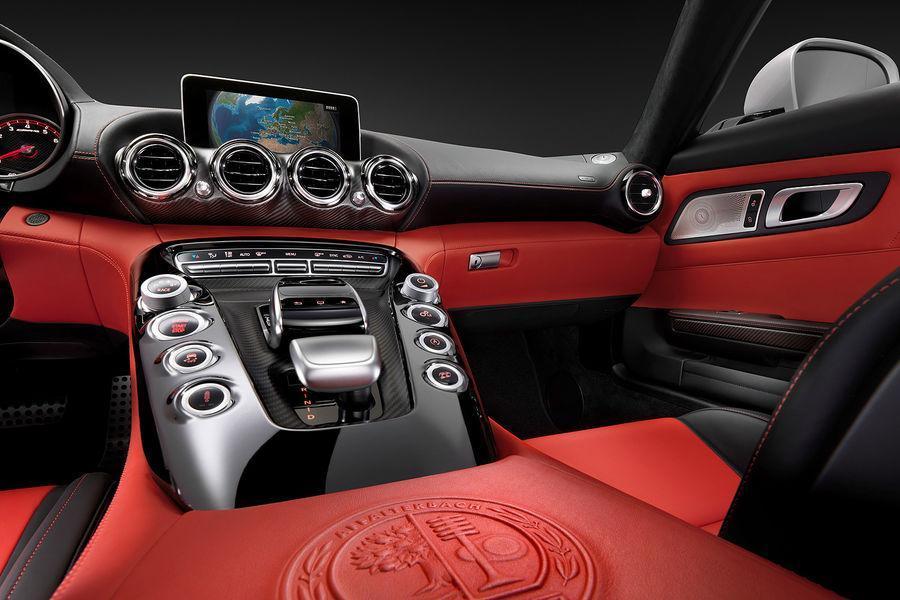 Foto de Mercedes-Benz AMG GT, interior (3/5)