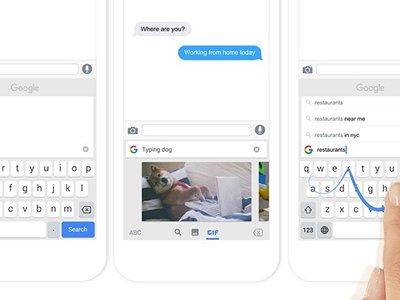 Gboard para Android estrena nuevo modo de edición de texto